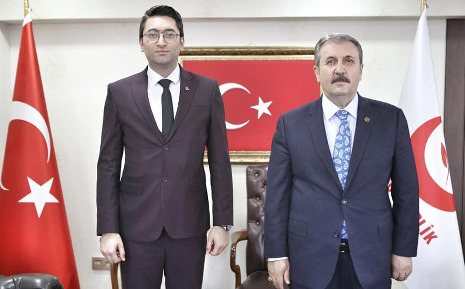 Genel Başkanımız Mustafa Destici'yi Ziyaret