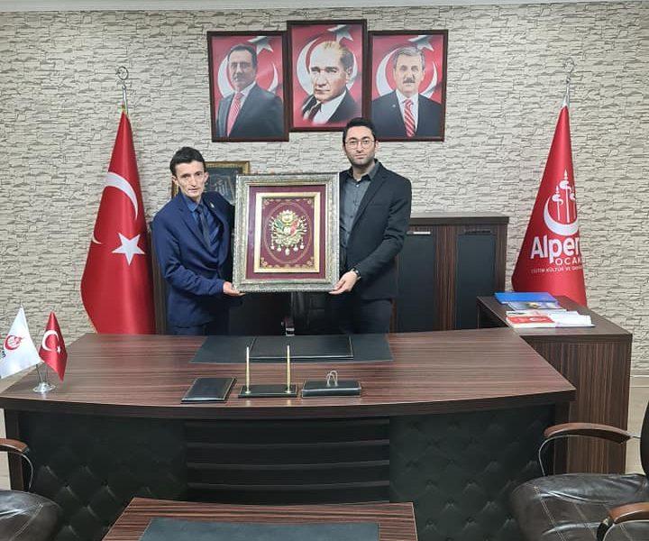 Büyükçekmece İlçe Başkanımız, İl başkanlığımızı ziyaret etmiştir