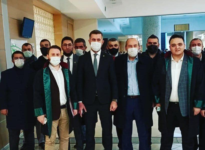 Muhsin Yazıoğlu'na yöneltilen hakaret davasına katıldık