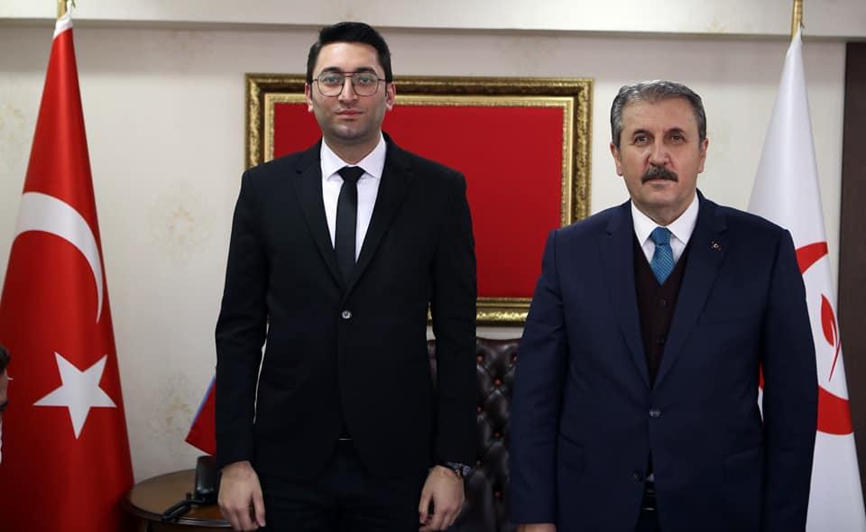 BBP Genel Başkanımız Mustafa DESTİCİ Beyefendiyi ziyaret