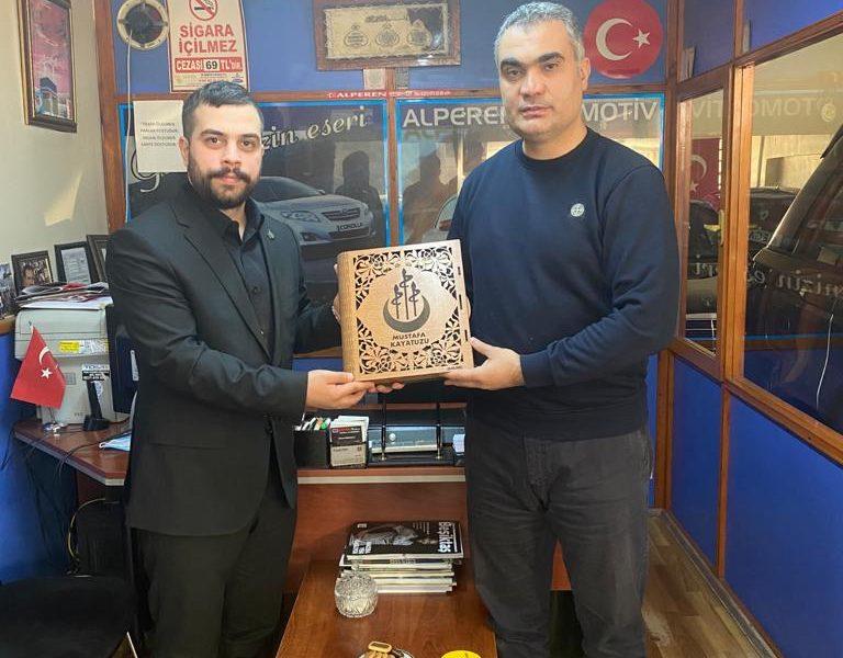 Mustafa KAYATUZU'nu Ziyaret Ettik