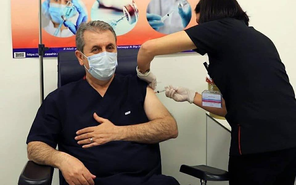 Genel Başkanımız Sayın Mustafa Destici'de Covid 19 aşısını oldu.