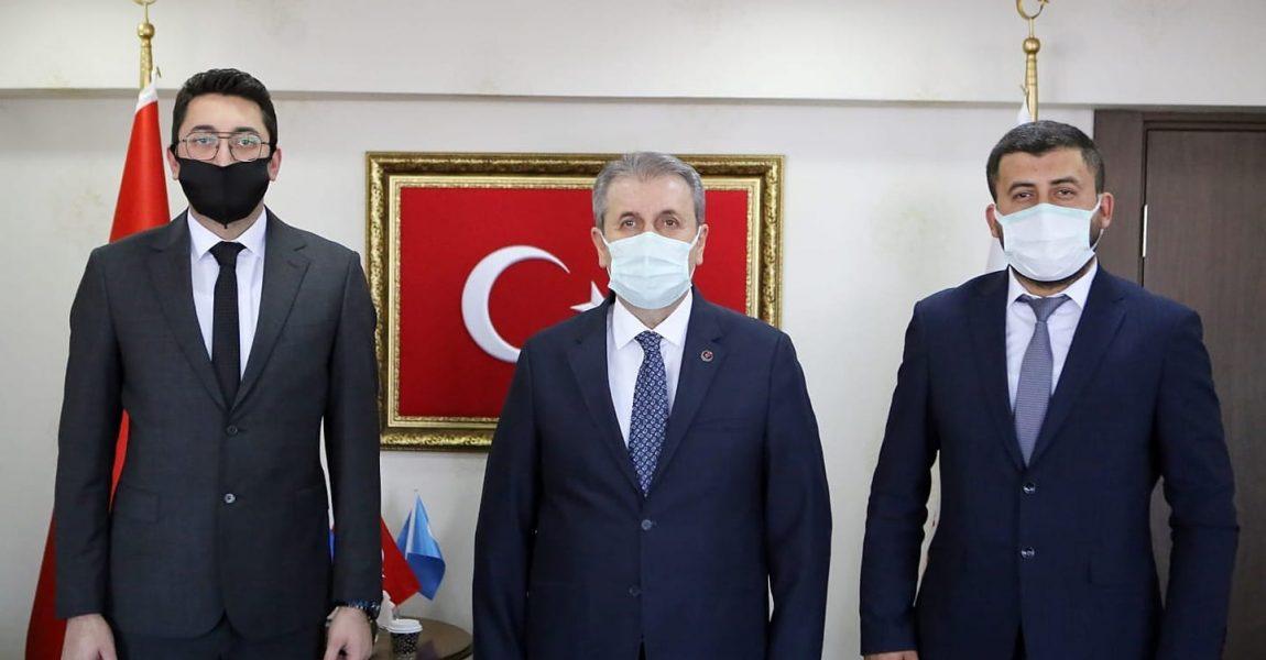 Ankara'da Genel Başkanımız ile İstişarelerde Bulunduk