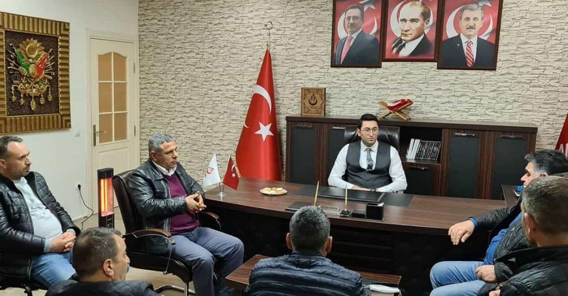 Erzurumlular Derneği Sancaktepe : İl Başkanımızı Ziyaret Etti