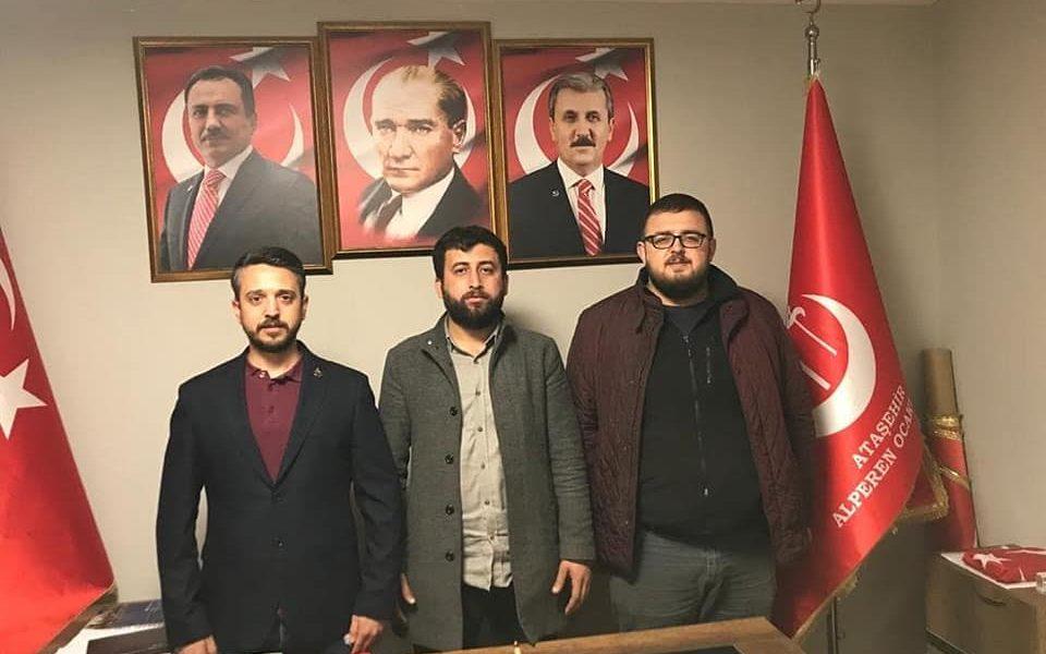 Teşkilat Başkanında : Ataşehir Ocağı Ziyaret