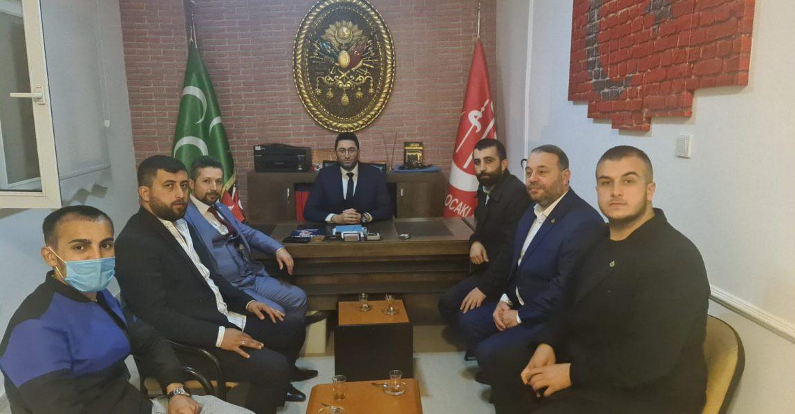 İl Başkanından : Beyoğlu Alperen Ocaklarını Ziyaret Etti