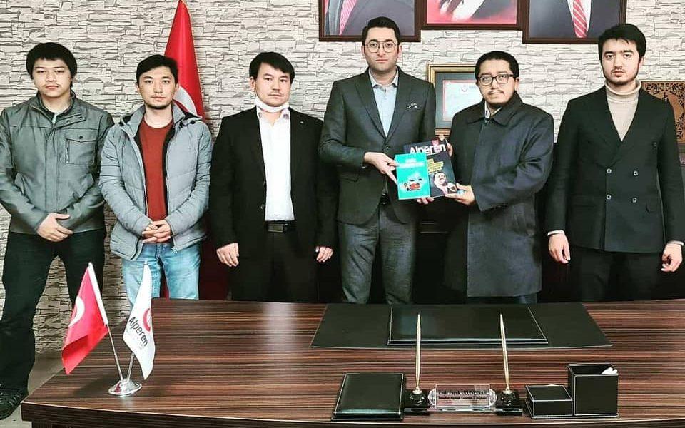 Doğu Türkistan Yeni Nesil Hareketi, Bizleri Ziyaret Etti