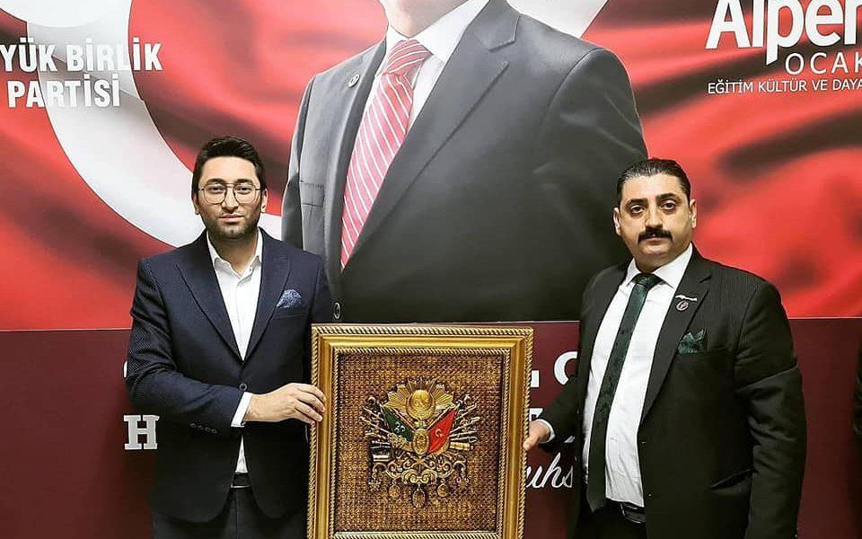 Küçükçekmece Büyük Birlik Partisi, İl Başkanımızı Ziyaret Etti