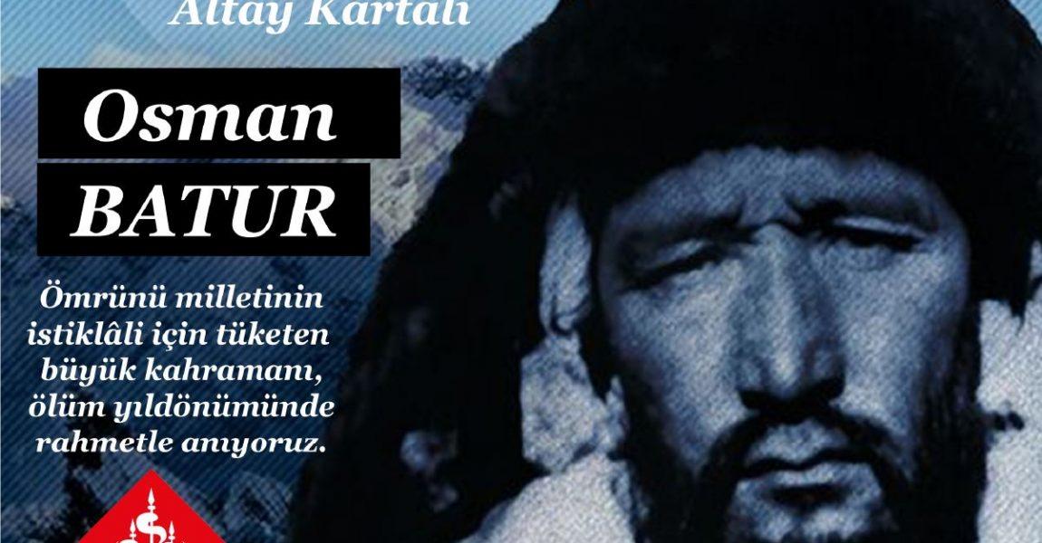 Osman Batur'u Rahmetle Anıyoruz