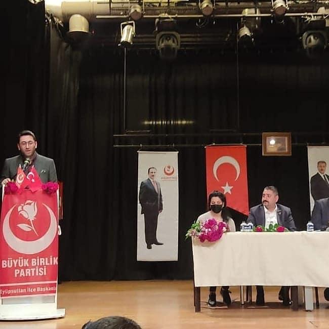 Eyüpsultan BBP ilçe kongresi yapıldı