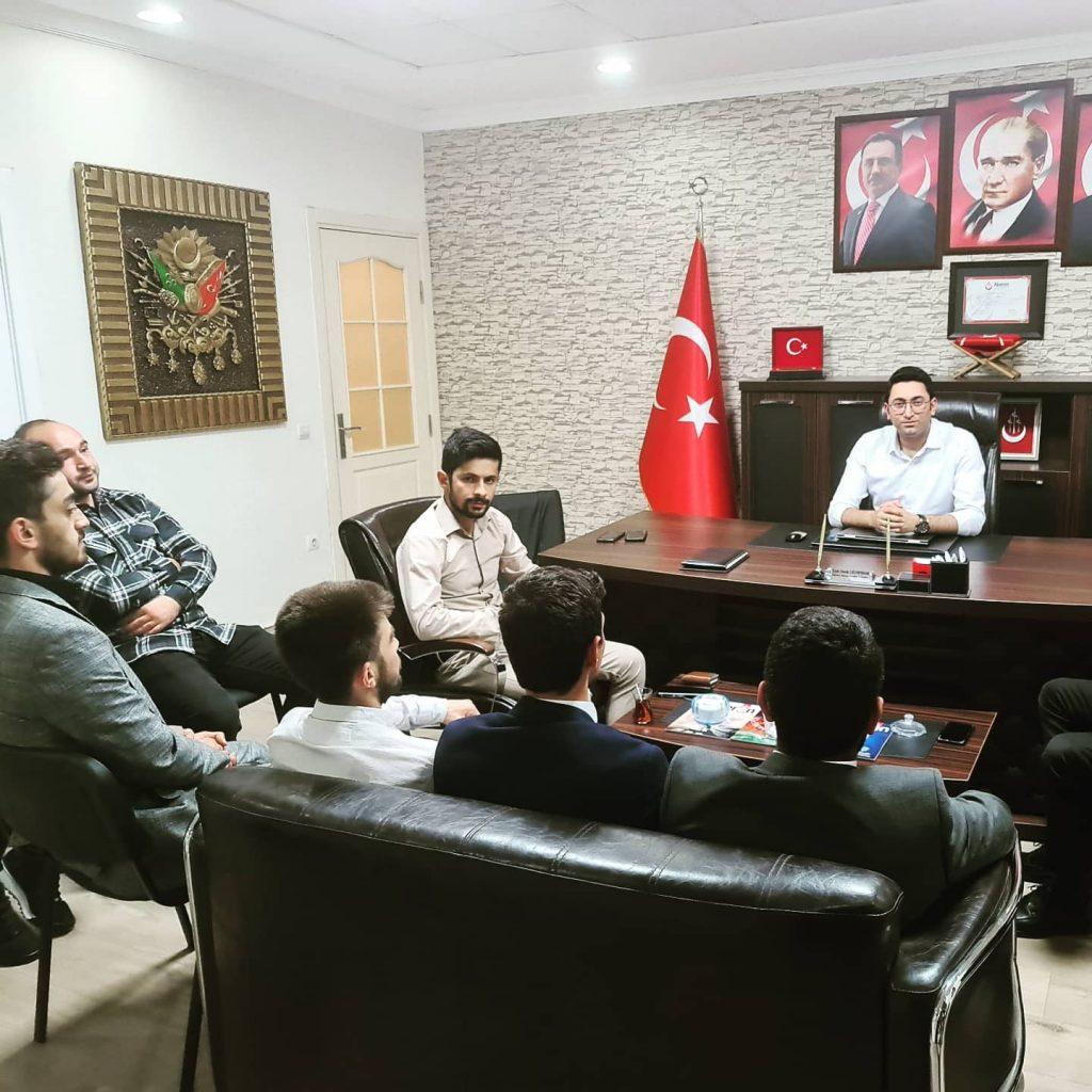 Sultanbeyli İlçe Başkanımız, İl başkanlığımızı ziyaret etmiştir