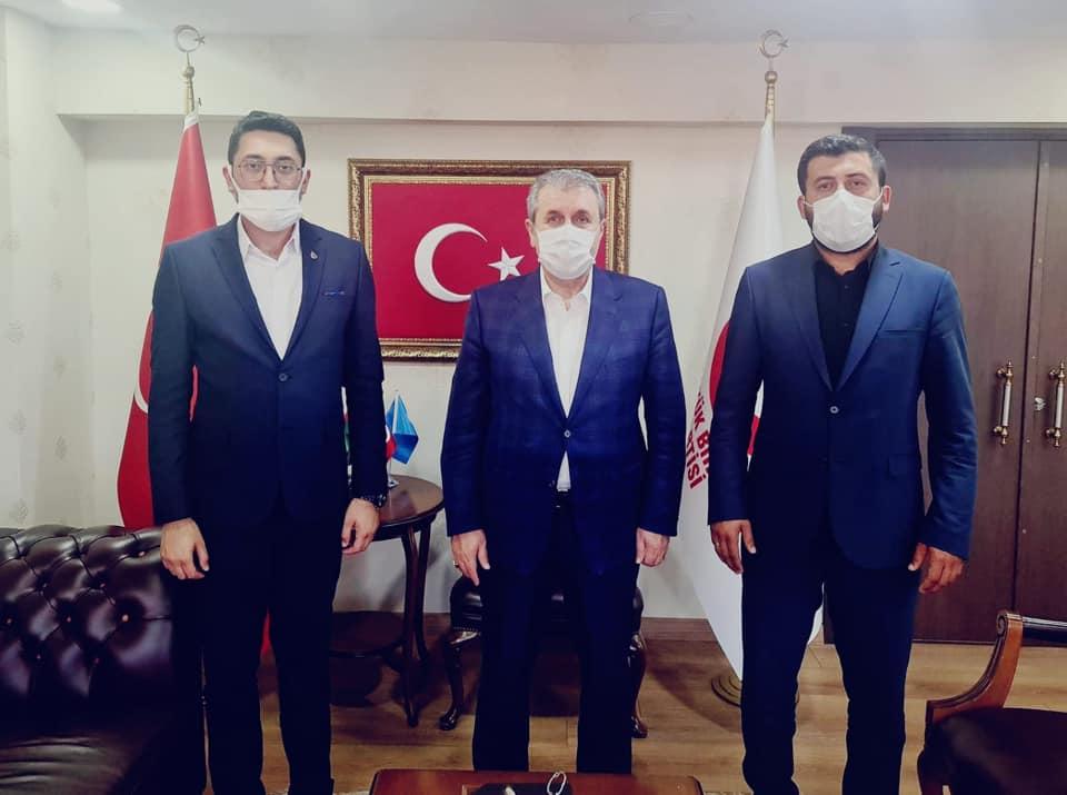 Genel Başkanımız Mustafa Desticiye Ziyaret