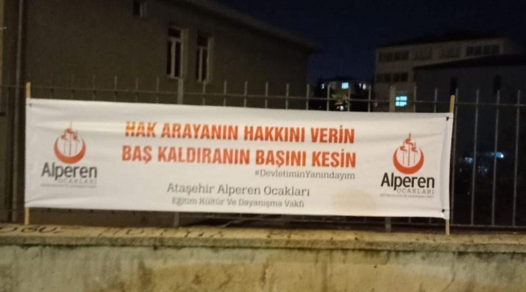 Ataşehir Pankart Çalışması