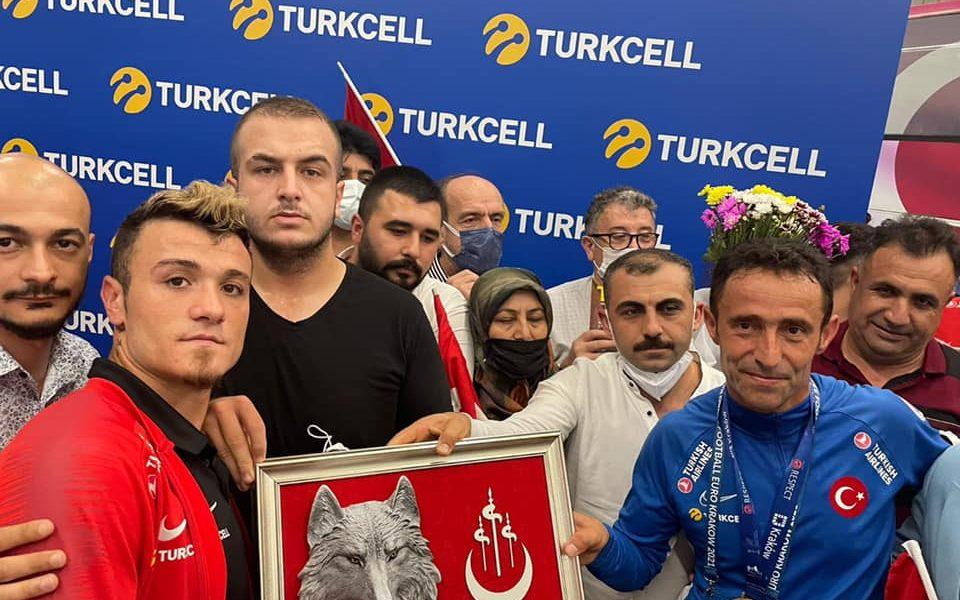 Türkiye Ampute milli takımını karşıladık