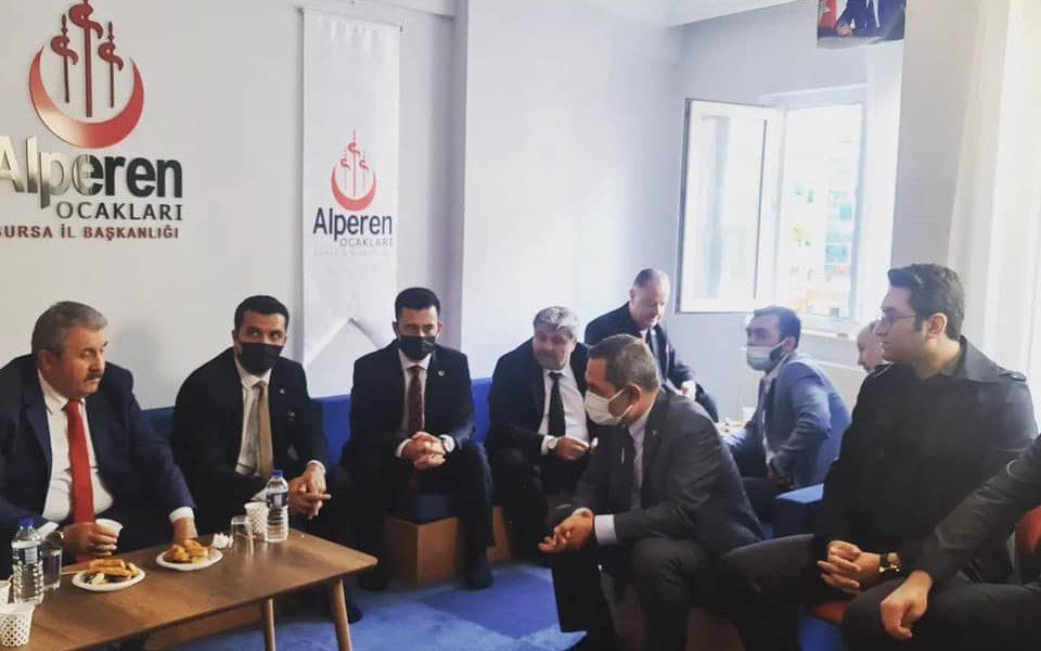 Bursa : Açılışına Katıldık