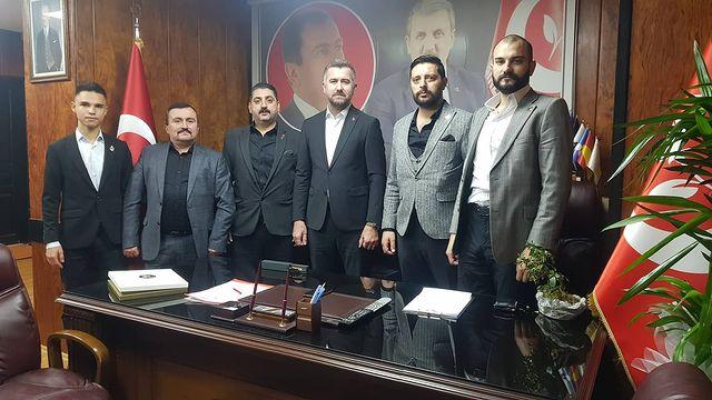 BBP İstanbul İl Başkanını Ziyaret